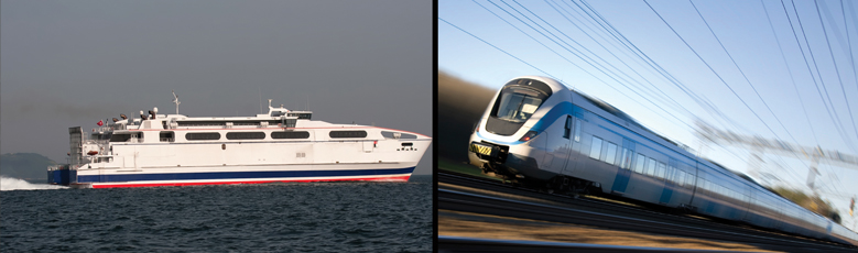 Rail, Ferry & Transfer Services
